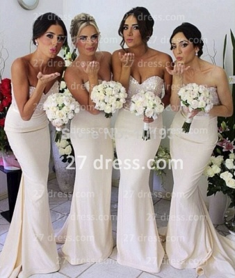 Luxury Sequined sheath prom Dress UK satin newest style bridesmaid gowns_2