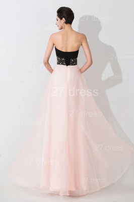 Luxury Sweetheart Beadings Prom Dress UK Long Chiffon Pink_3