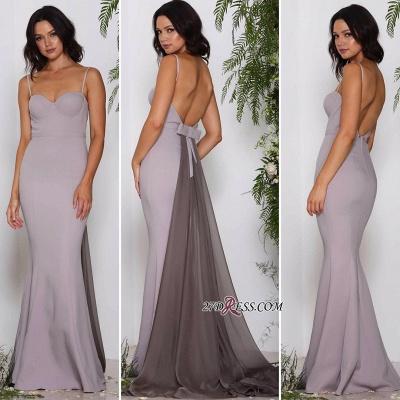 Spaghetti straps long prom Dress UK, affordable evening Dress UKes UK_2