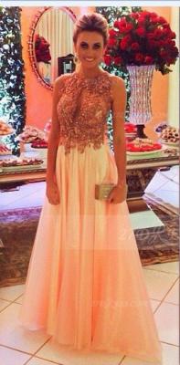 Evening Crystals Elegant Prom Dress UKes UK Halter Sleeveless Gowns A-line Floor-length Backless Charming_1