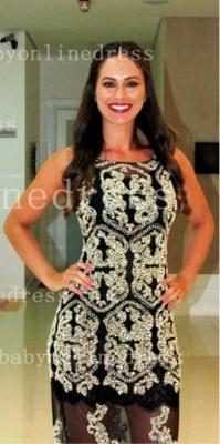 Rhinestone Elegant Prom Dress UKes UK with Vestidos Jewel Neck Beads Appliqued Crystal Tulle Sheath Evening Dress UKes UK_3