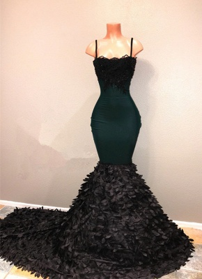 Spaghetti-straps prom Dress UK, mermaid evening party gowns on sale BA8561_3