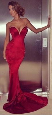 Sexy Sweetheart Mermaid Prom Dress UK Long Zipper Back_1