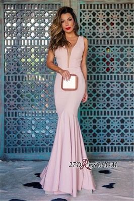 Sleeveless Open Back Prom Dress UK | Mermaid Evening Party Gowns_3