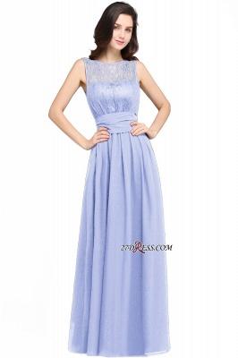 Jewel Black Keyhole Elegant Sheath Lace Floor-length Chiffon Evening Gown_5
