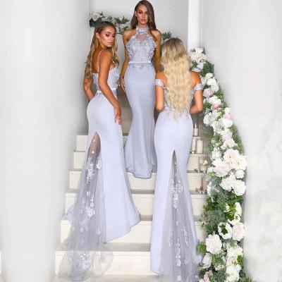 Multi-Style 2019 Bridesmaid Dress UK | Mermaid Lace Maid of Honor Dress UK On Sale_4
