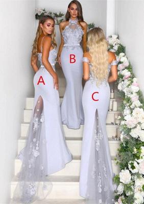 Multi-Style 2019 Bridesmaid Dress UK | Mermaid Lace Maid of Honor Dress UK On Sale_1