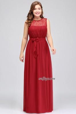 Jewel Black Keyhole Elegant Sheath Lace Floor-length Chiffon Evening Gown_3