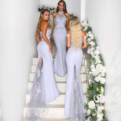 Multi-Style Bridesmaid Dress UK | Mermaid Lace Maid of Honor Dress UK On Sale_4