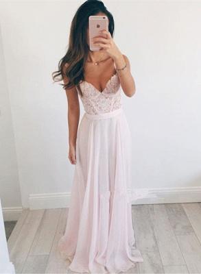 Sexy Sweetheart Lace Prom Dress UK Long Chiffon Party Gowns BA2665_1