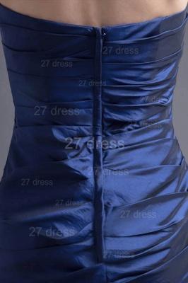 Modern Strapless A-line Sleeveless Evening Dress UK Floor-length Ruffles Zipper_3