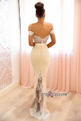 Off-the-shoulder mermaid lace evening Dress UK, prom Dress UKes UK BA8337_1