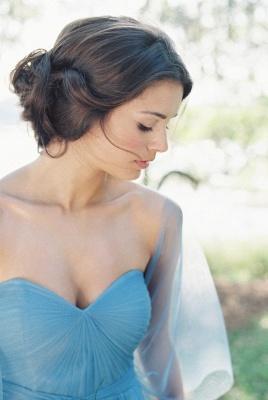 Modern Chiffon Sweetheart A-line Prom Dress UK Half Sleeve_3