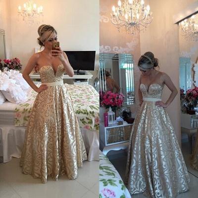 Modern V-neck Sleeveless Pearls Prom Dress UK Open Back Floor-length BT0_2