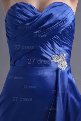 Modern Sweetheart Sleeveless Evening Dress UK Sweep Train Zipper_3