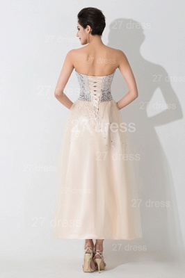 Gorgeous Sweetheart Sleeveless Sequins Evening Dress UK Lace-up_3