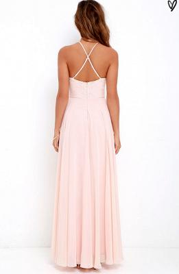 Sexy Halter Sleeveless Prom Dress UK Long Chiffon Lace TH046_3