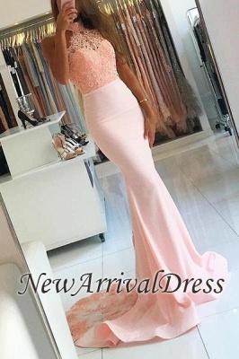 Open-Back Mermaid Backless Elegant Evening Dress UK lpl087_2