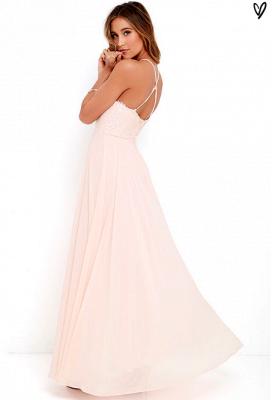 Sexy Halter Sleeveless Prom Dress UK Long Chiffon Lace TH046_5
