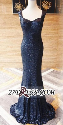Sleeveless Long Mermaid Sequined Zipper Evening Dress UKes UK BA6839_4