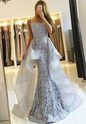 Gorgeous Lace 2019 Evening Dress UK | Long Formal Dress UK With Ruffles_3