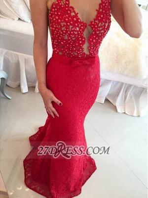 Elegant Sweetheart Beadings Lace Prom Dress UKes UK Sleeveless Mermaid Eveing Gowns_2