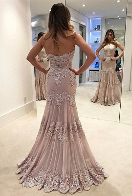 Modern prom Dress UK, lace long evening gowns_2