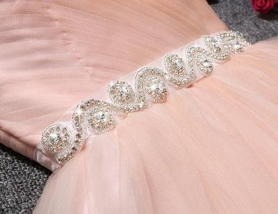 Lovely Sweetheart Prom Dress UK | Tulle Lace-Up Short Homecoming Dress UK_5