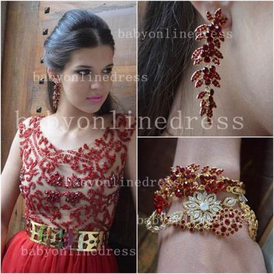 Evening Elegant Red Prom Dress UKes UK New Fashion Dress UKes UK Cap Sleeves Vestidos Female Formal Tulle Bead Dress UKes UK_2
