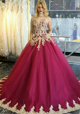 Amazing Lace Appliques Evening Dress UK Ball Gown Formal Wear_1