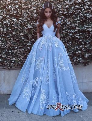 Off-the-shoulder Sexy Lace Floor-Length Evening Dress UK PT0375_3