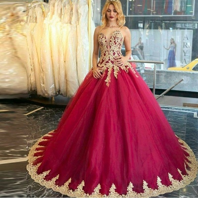 Amazing Lace Appliques Evening Dress UK Ball Gown Formal Wear_3