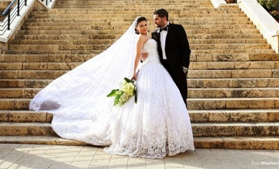 Delicate Sweetheart Lace Tulle Wedding Dress Ball Gown Beadss_4