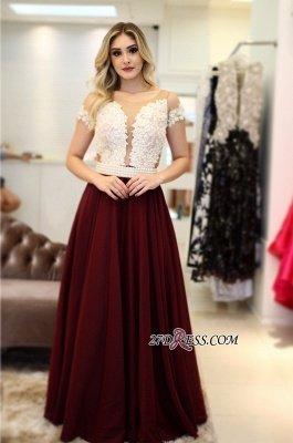 Burgundy prom Dress UK, pearls long evening Dress UK_4