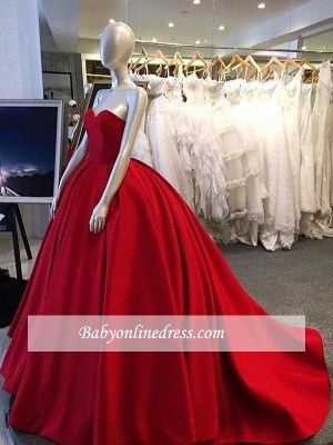 Gorgeous  Ball Gown Simple Prom Dress UKes UK Sweetheart Long On Sale BA9016_2
