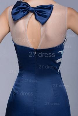Newest Illusion Beadings Crystals Mermaid Evening Dress UK Floor-length_5