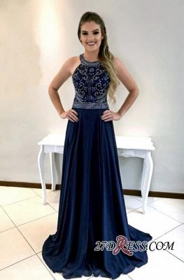 Navy long prom Dress UK, party Dress UKes UK_4