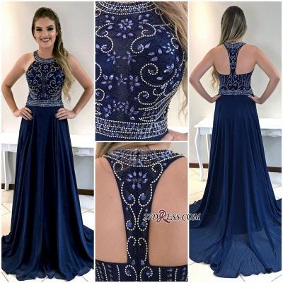 Navy long prom Dress UK, party Dress UKes UK_3