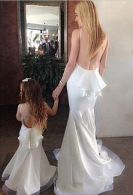 Elegant Sleeveless Backless Mermaid Prom Dress UK With Ruffles_3