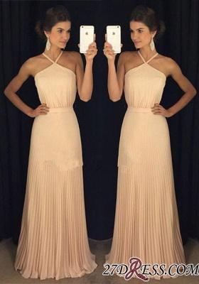 Floor-Length Long Halter Luxury Prom Dress UK AP0_2