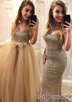 Bodycon Sweetheart Luxury Beads Sleeveless Evening Dress UK_2