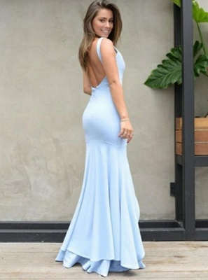Sexy Sweetheart Mermaid 2019 Evening Dress UK | Prom Party Dress UK With Slit On Sale_3