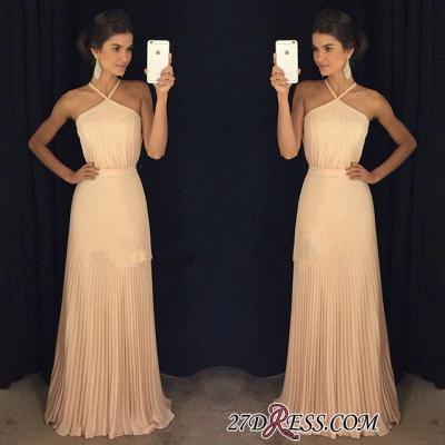 Floor-Length Long Halter Luxury Prom Dress UK AP0_1