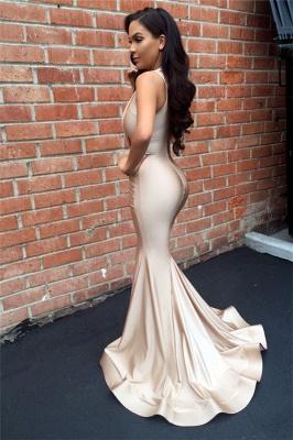 Designer Ruched Sleeveless Evening Dress UK Mermaid Floor Length BA3633_3