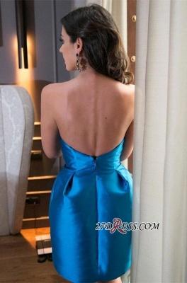 Zipper High-Neck Sleeveless Elegant Mini Bow Homecoming Dress UK_3