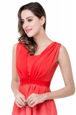 Luxury Ombre Short Prom Dress UK Sleeveless Bridesmaid Dress UK_4