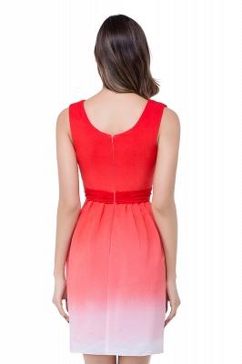 Luxury Ombre Short Prom Dress UK Sleeveless Bridesmaid Dress UK_5