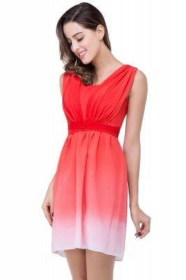 Luxury Ombre Short Prom Dress UK Sleeveless Bridesmaid Dress UK_6