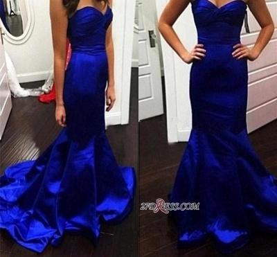 Sweetheart Gorgeous Royal-Blue Mermaid Evening Dress UK_1