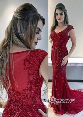 Red prom Dress UK, mermaid evening Dress UKes UK_2